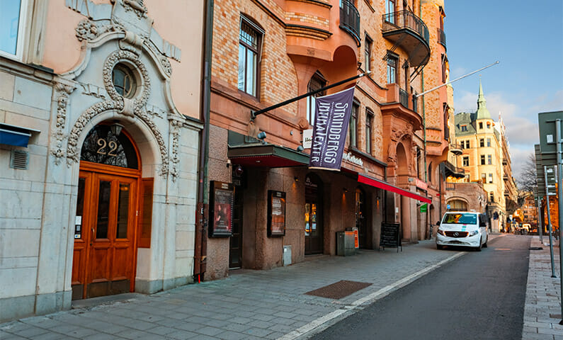 Strindbergs intima teater Stockholm