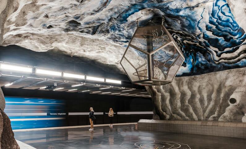 Tunnelbanestation Tekniska högskolan