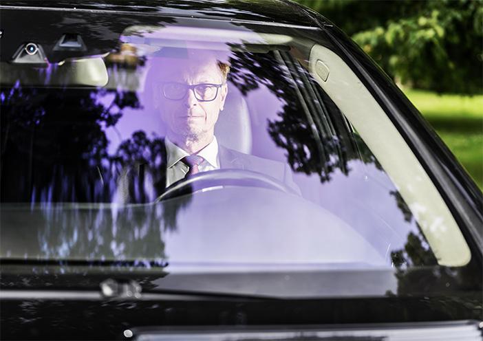 Limousine driver Stockholm
