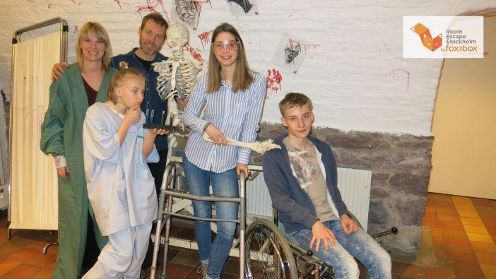 Juegos de escape en Estocolmo – Fox in a Box Room Escape