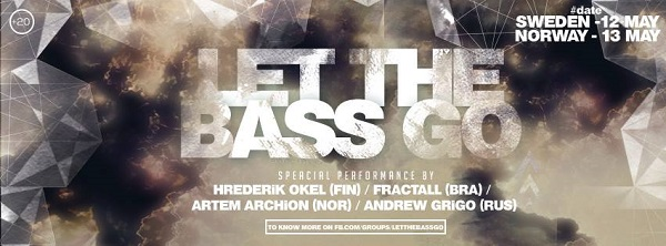 12 May Klubb Blå party series Let The Bass Go