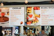 fika, kaffe, restaurang, mall of scandinavia, matblogg, matbloggare, foodblog, travelblog, Stockholm, Estocolmo, Solna