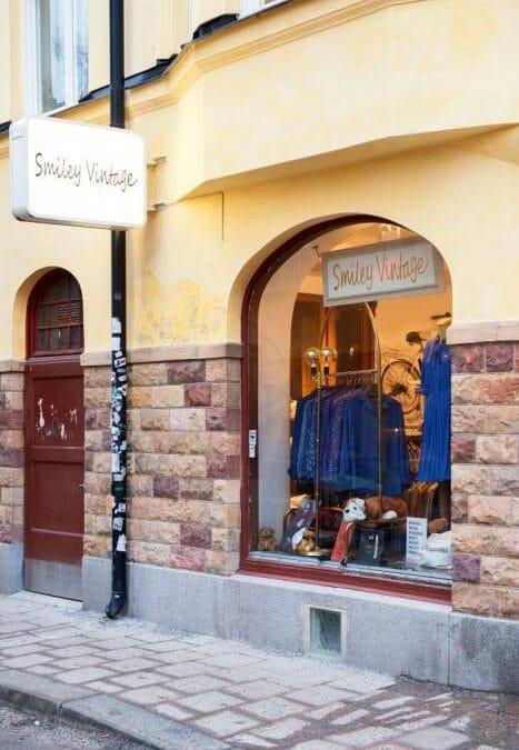Vintage Shoppen In Stockholm