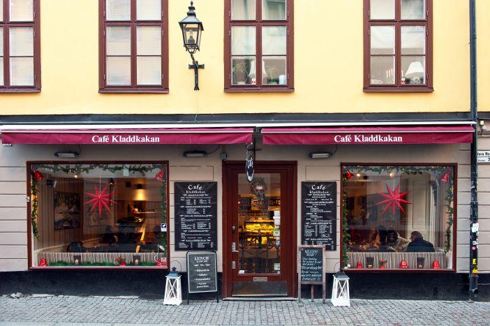 Godaste fikan på Café Kladdkakan