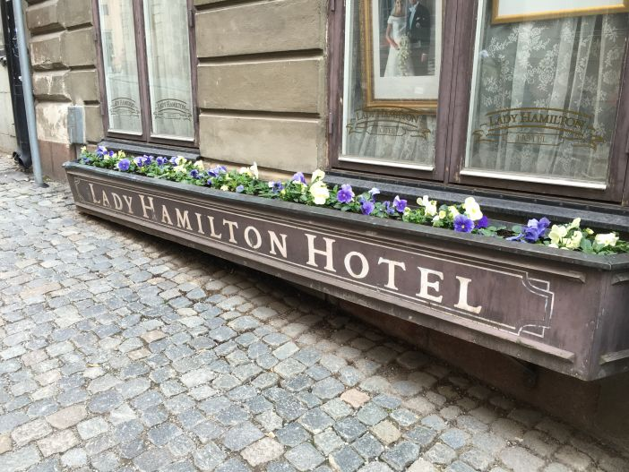 Lady Hamilton Hotel in Stockholm's Old Town