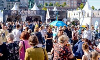 Visit Smaka på Stockholm, one of the world's largest food festivals