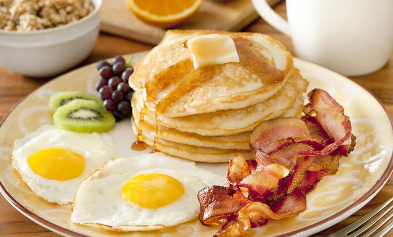 Engelsk frukost i Stockholm