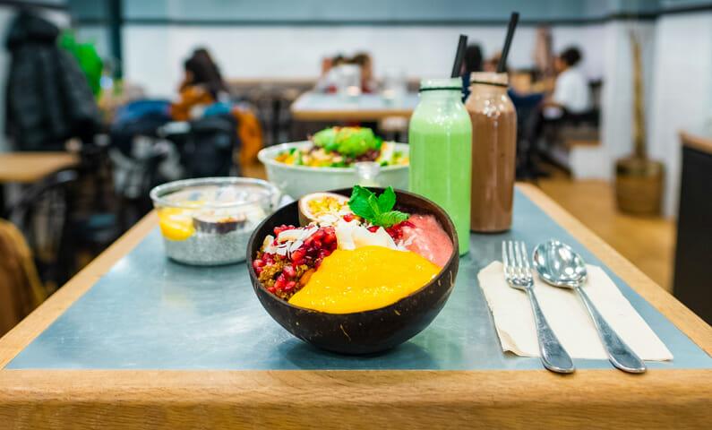 Vegan brunch in Stockholm