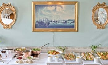 Sjöfartshuset invites you to a delicious lunch buffet in a historical environment