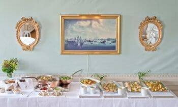 Sjöfartshuset invites you to a exclusive lunch buffet in a historical environment