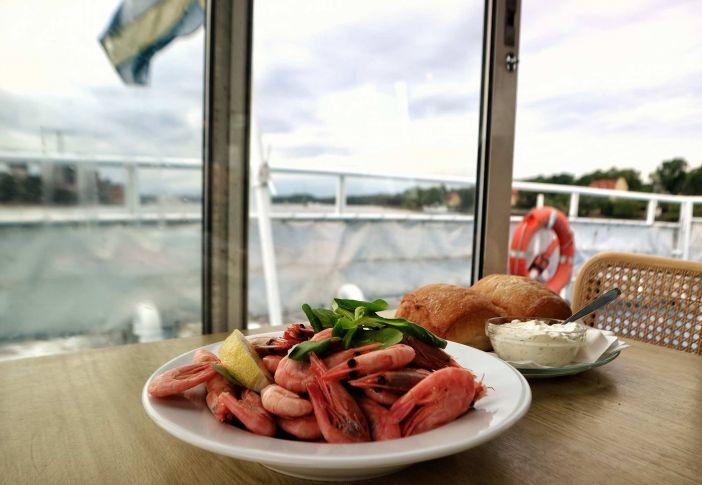 Sea food at Vindhem