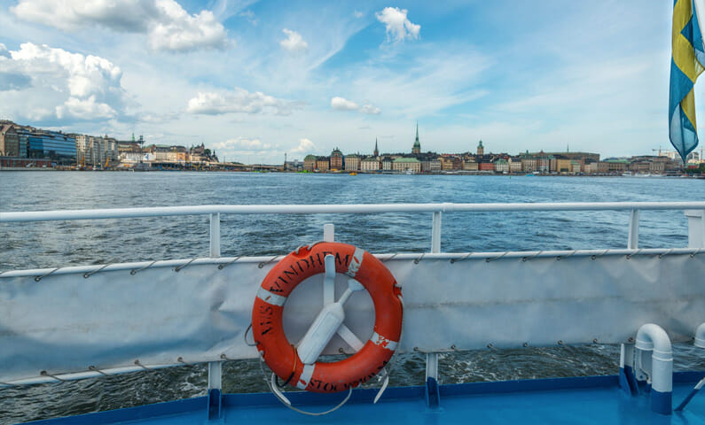 Stockholm archipelago guided tour