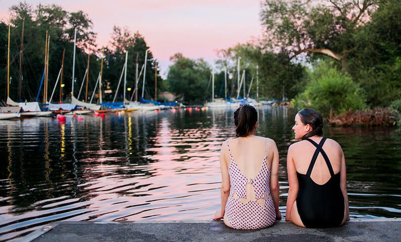 Swim in Stockholm