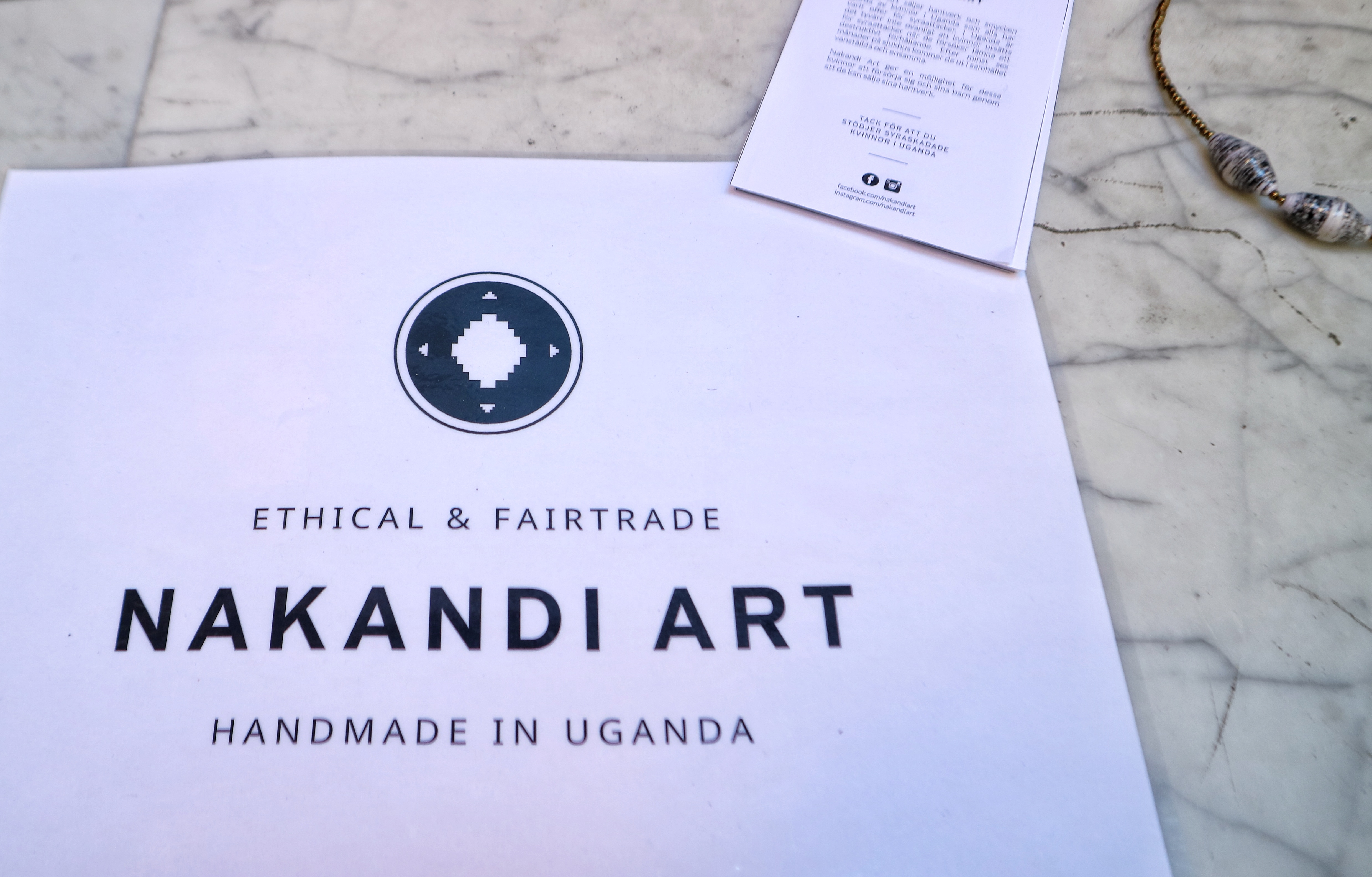 Nakandiart and The Yoga Story unites to support Ugandan women