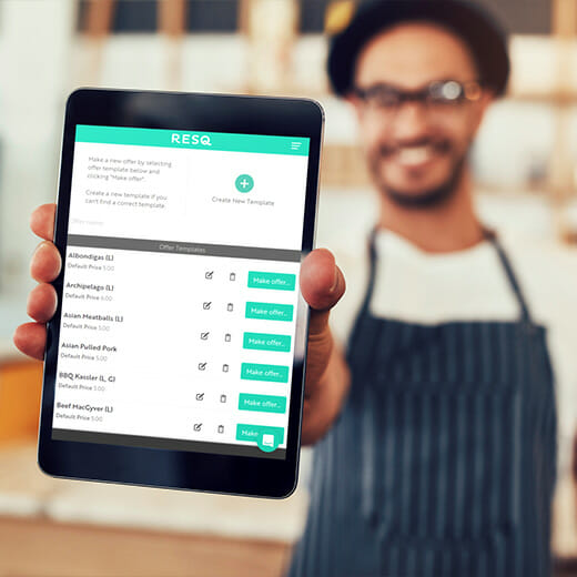 ResQ Club food app