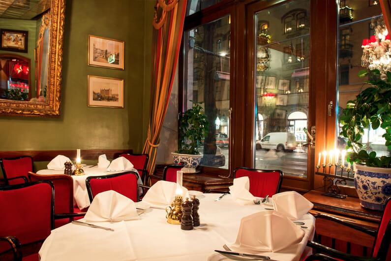 Tennstopet restaurant Stockholm