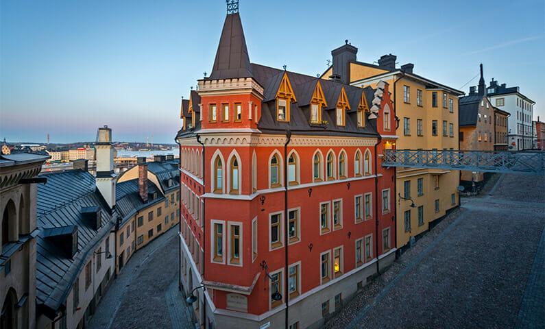 The Millennium Trilogy tour in Stockholm