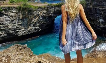 Nicole the traveljunkie and her love for Bali