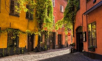 Walking the streets of Stockholm's Old Town