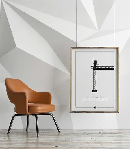 Sverigemotiv prints Stockholm
