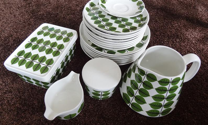 Gustavsberg porcelain Berså Stig Lindberg
