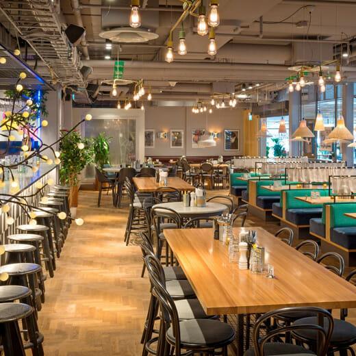 Urban Deli restaurant
