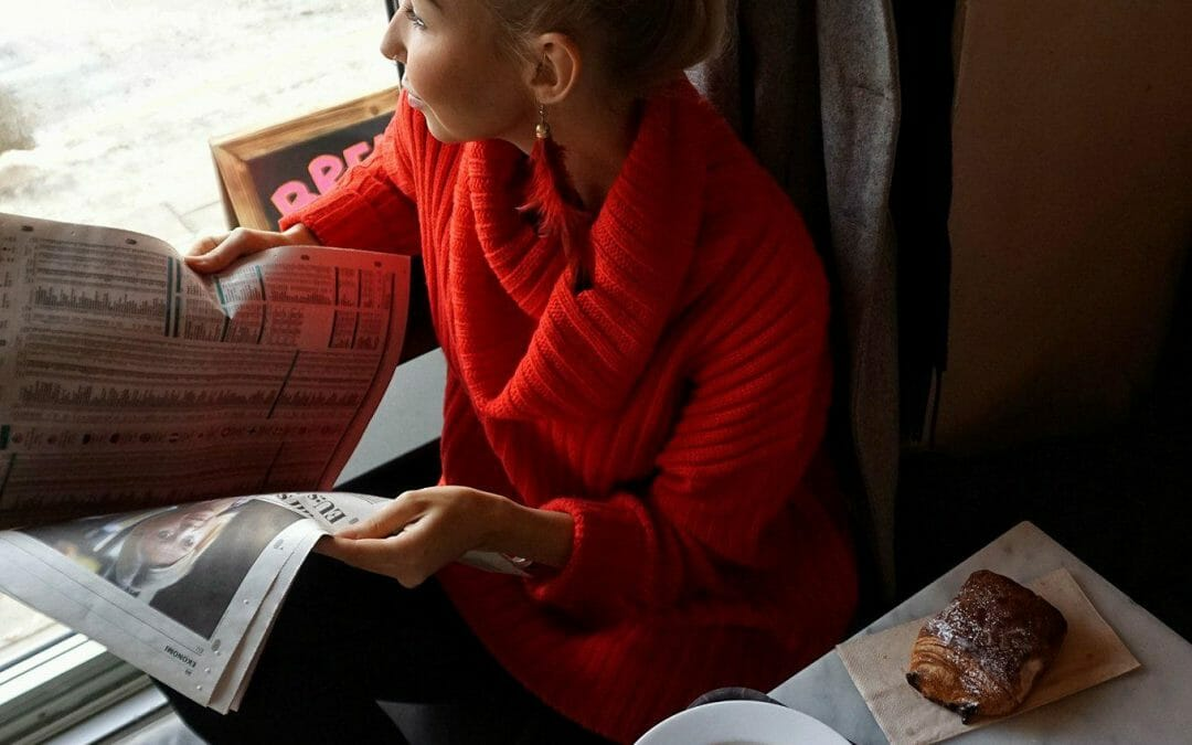 Cozy weekend breakfast at Urban Deli Nytorget