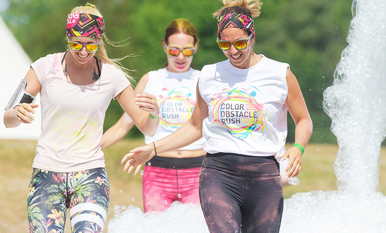 Color Obstacle Rush in Stockholm