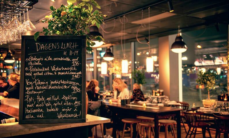 Haga Bottega, a Mediterranean restaurant in Stockholm