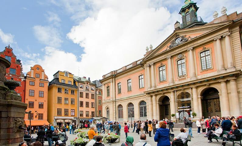 Nobel museum in Stockholm