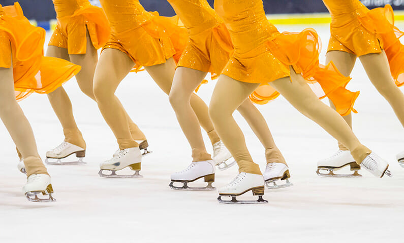 Synchronized skating Stockholm