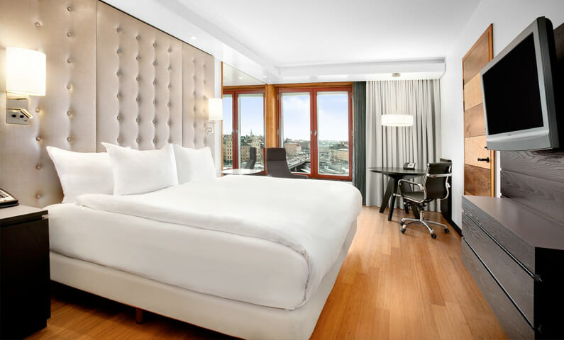 Hilton Stockholm Slussen hotel room