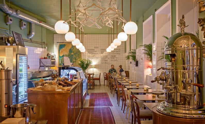 Systrarna Andersson café in Vasastan