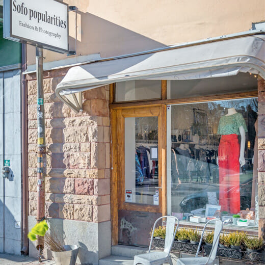 Sofo Popularities, fashion store in Stockholm