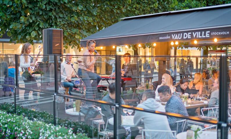 Vau de Ville restaurant in Stockholm