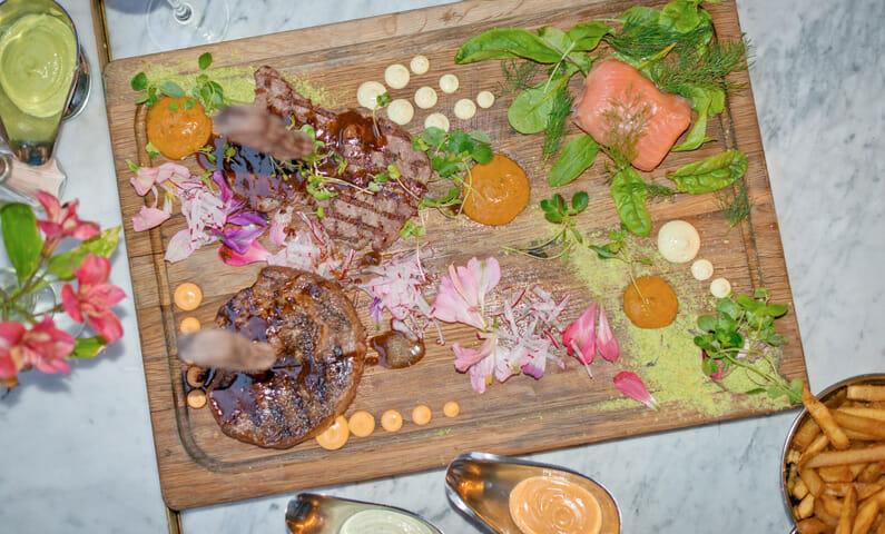 Vau de Ville Stockholm food