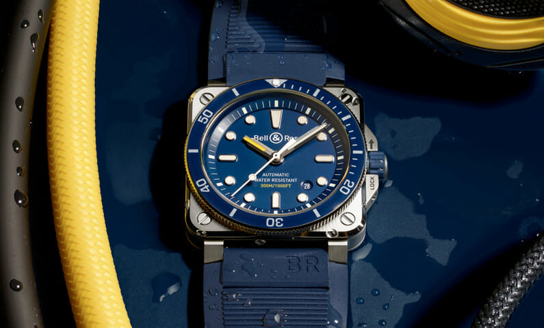 Bell & Ross square diving watch