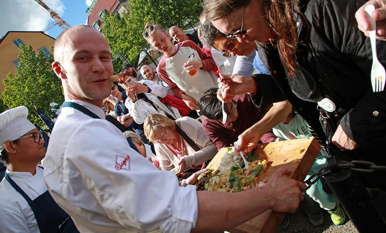 Smaka på Stockholm matfestival
