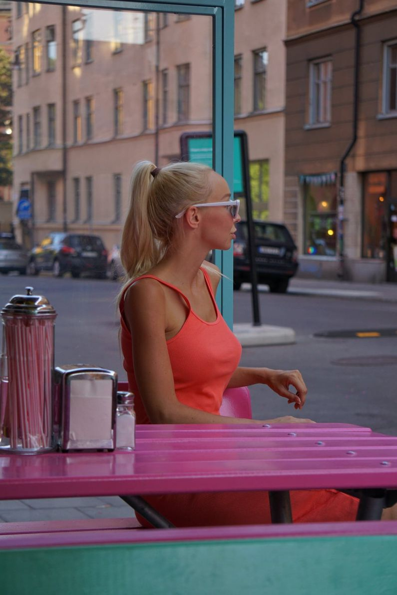 Swedish summer and Lily's burger