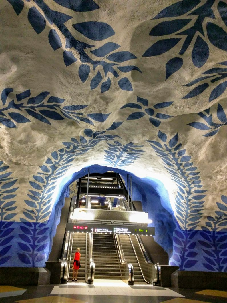 Coolest stations of Stockholm's metro