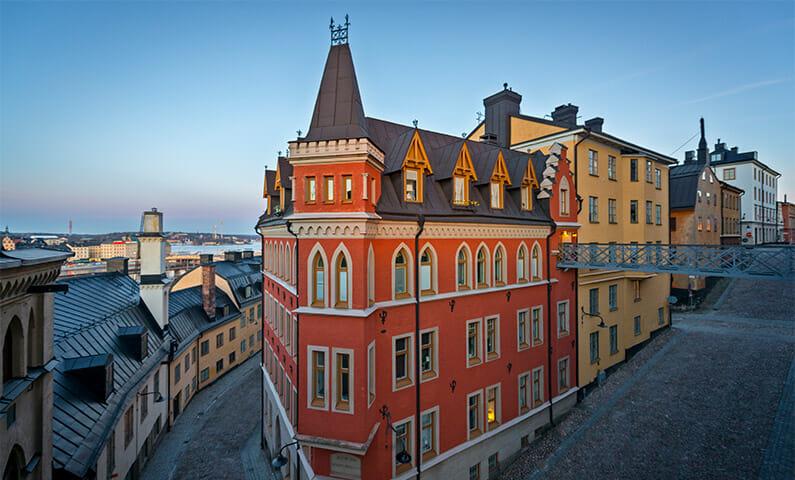 Gamla hus på Södermalm, Stockholm