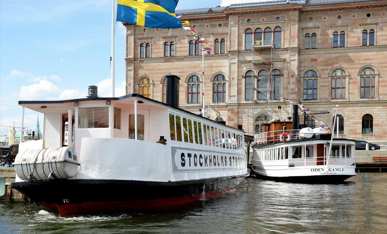 Sightseeing i Stockholm med båt