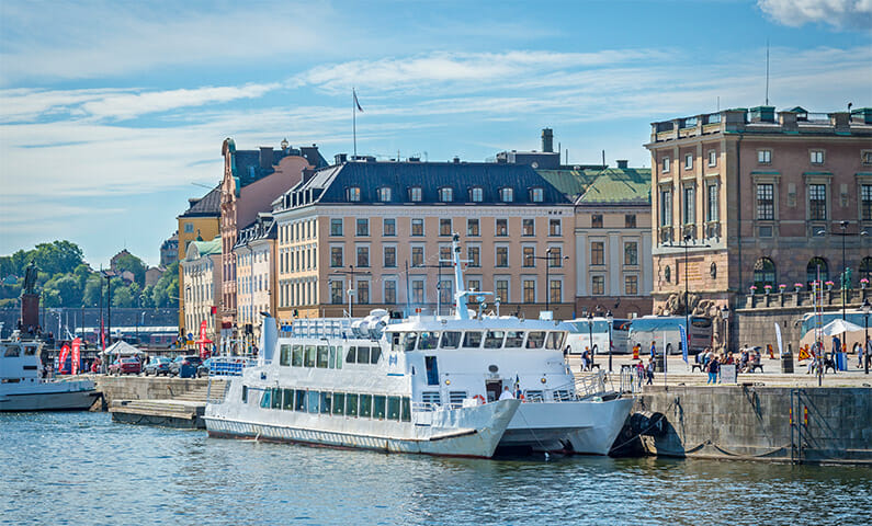 Stockholm boat sightseeing