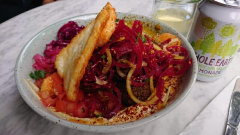 Falloumi bowl