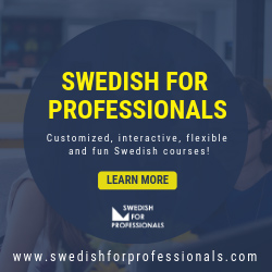 Swedish for Professionals Ad