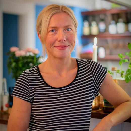 Anna Kvie, owner of Pomme Crêperie