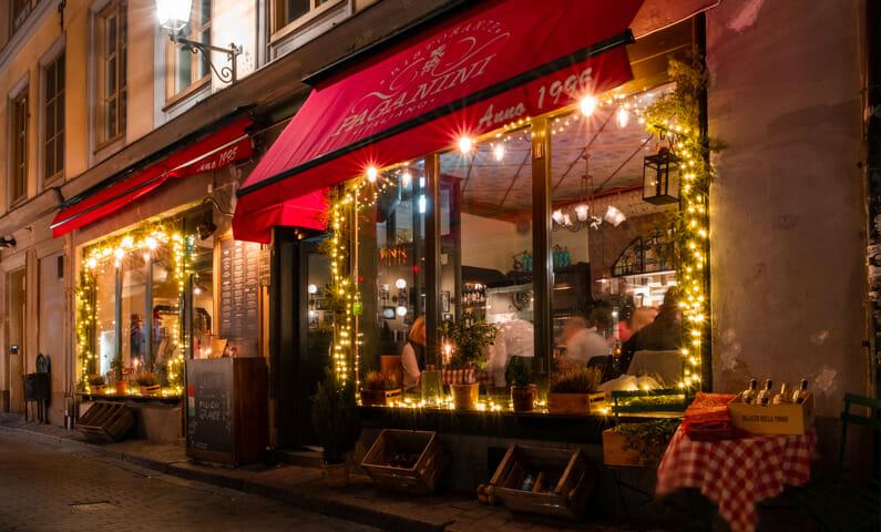 De 10 mest romantiska restaurangerna i Stockholm infr alla