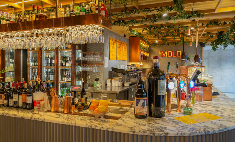 Il Molo restaurang Stockholm