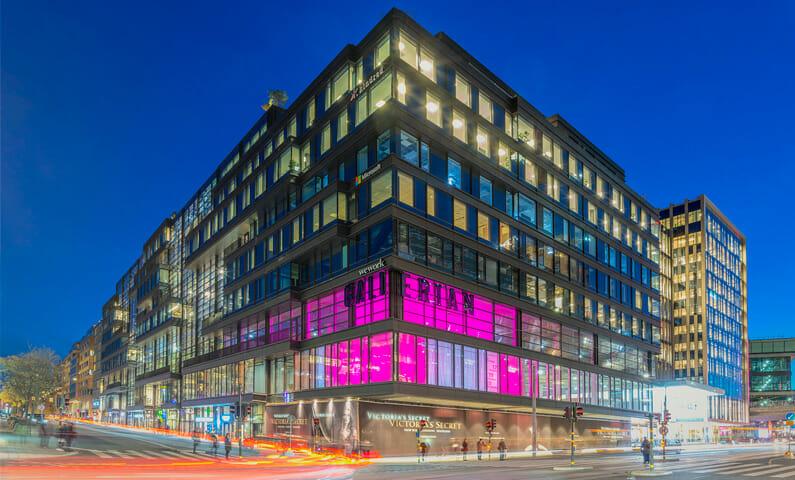 P.U.S.H öppnar i Gallerian, Stockholm