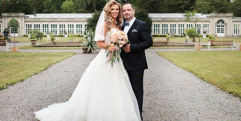 Anja och Alex bröllop